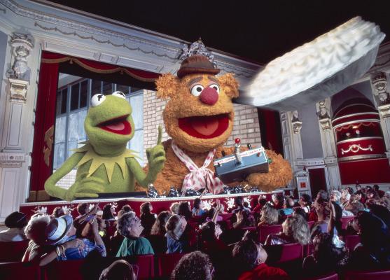 Scene from MuppetVision 3D