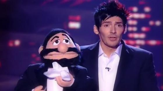 Ventriloquist Gareth Oliver on Britain's Got Talent