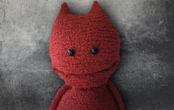 Virgin One's puppet mascot Red