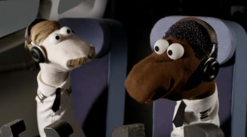 Sock puppets on the Oscars