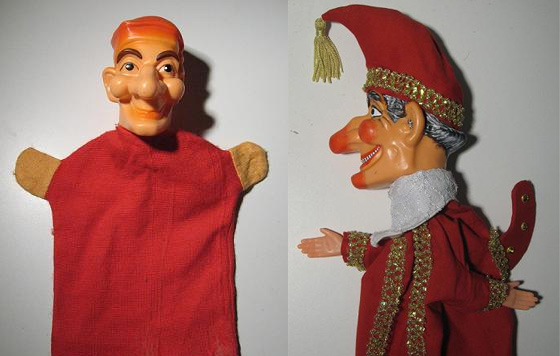 Grant Harding Punch puppet