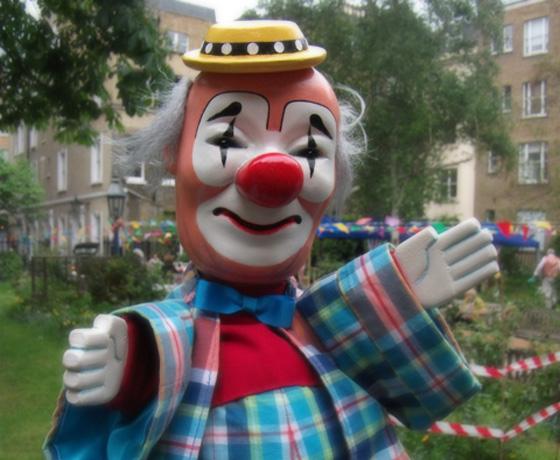 English hand puppet