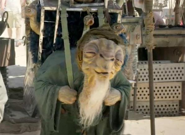 Creature from Star Wars: Episode VII