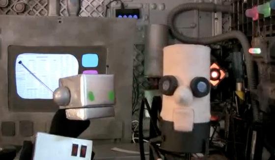 The puppet cast of Jigsaw