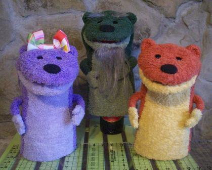Prairie Dog Puppets (photo © John Clayburn).