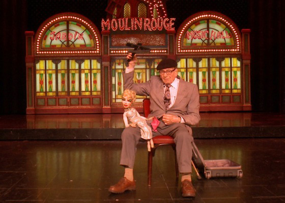 British puppeteer Frank Mumford
