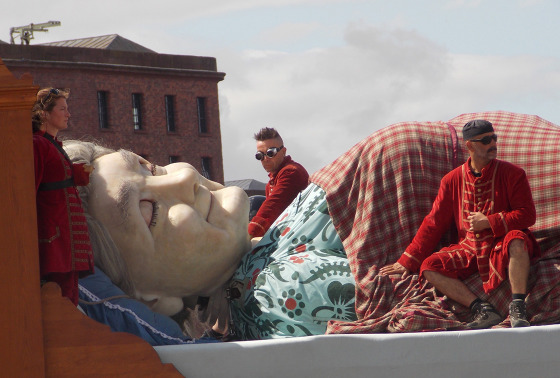 Royal de Luxe's 2014 Giant Spectacular in Liverpool, England