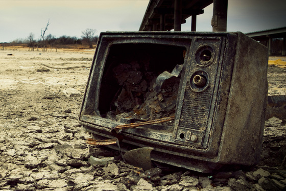 The television industry is ill and the prognosis is not good.