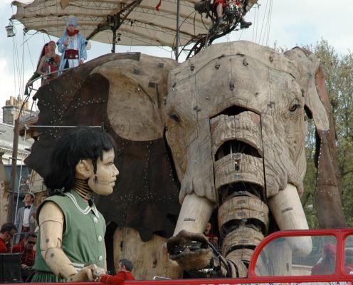 Royal de Luxe's The Sultan's Elephant