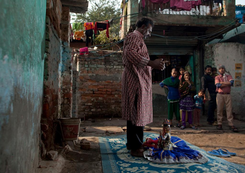 Puran Bhatt in the documentary Tomorrow We Disappear