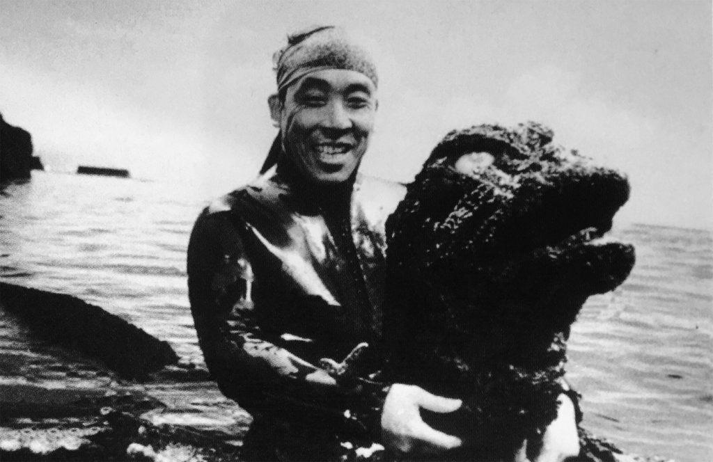 Godzilla suit performer Haruo Nakajima.