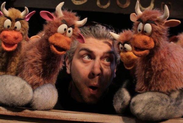 Puppeteer Adam Kreutinger