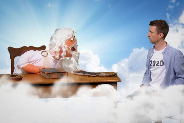 Popular Australian comedian Sammy J with God
