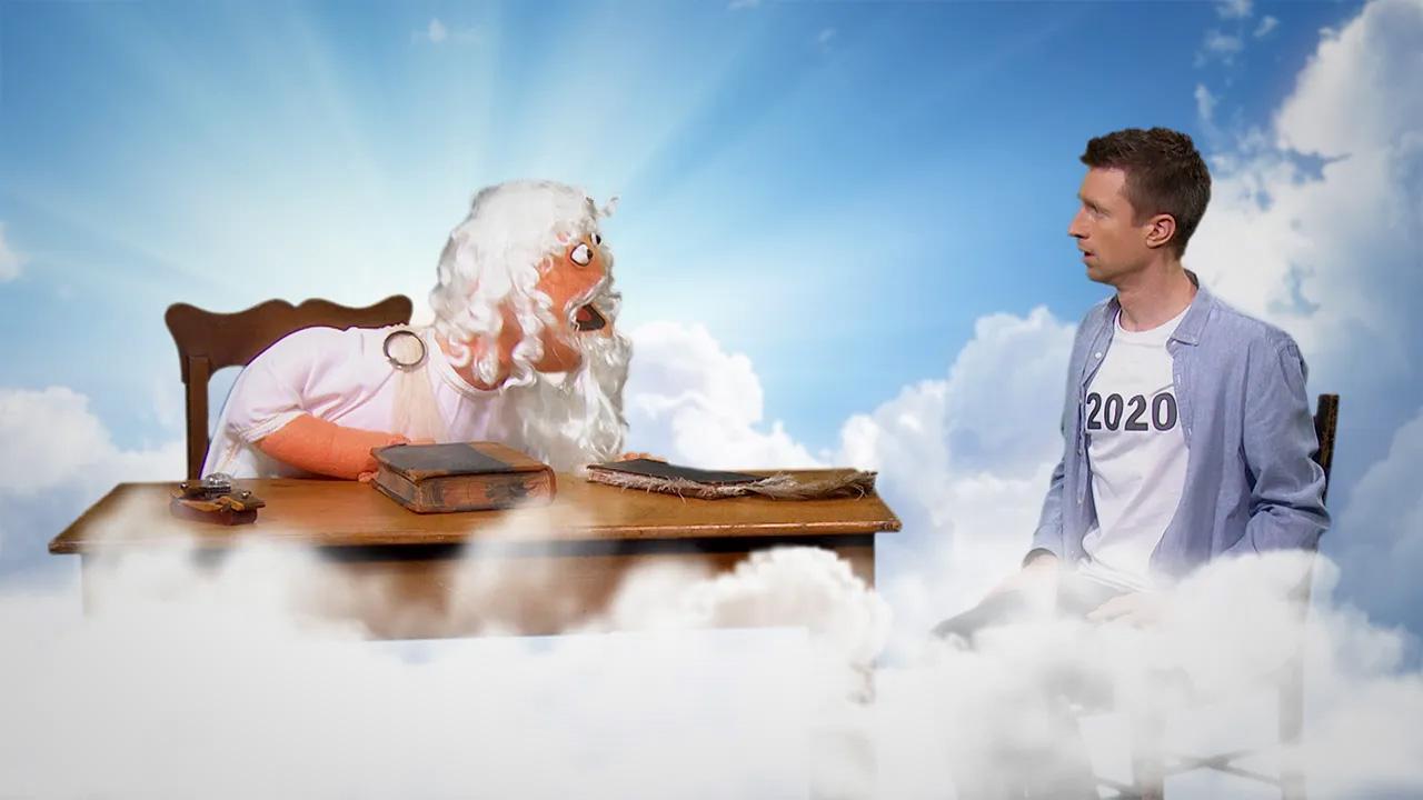 Popular Australian comedian Sammy J with God