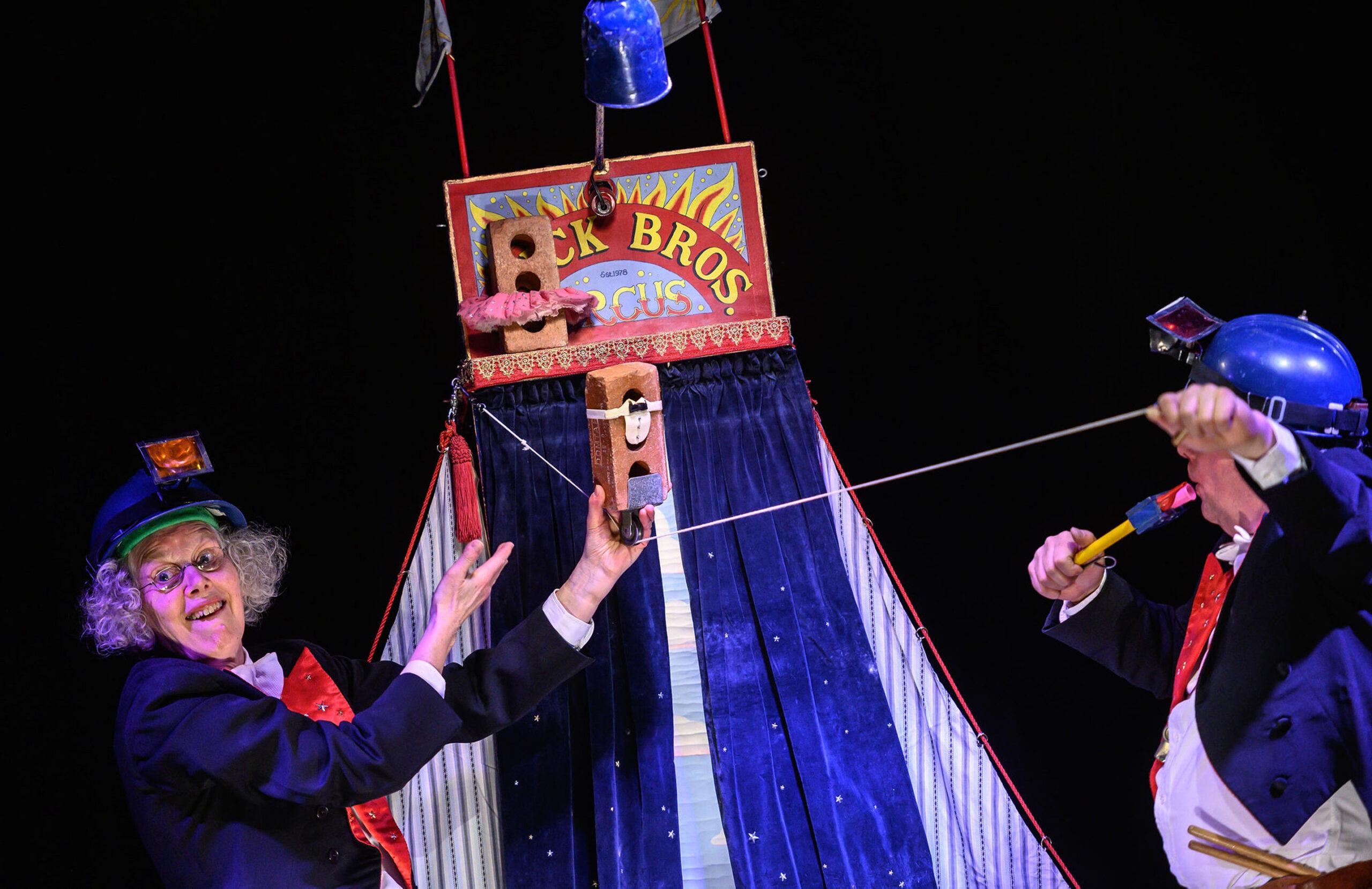 Puppetmongers' Brick Bros Circus